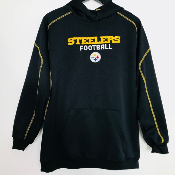 pretty nice 584f8 4c03a PITTSBURGH STEELERS Hoodie XL REEBOK Sweatshirt